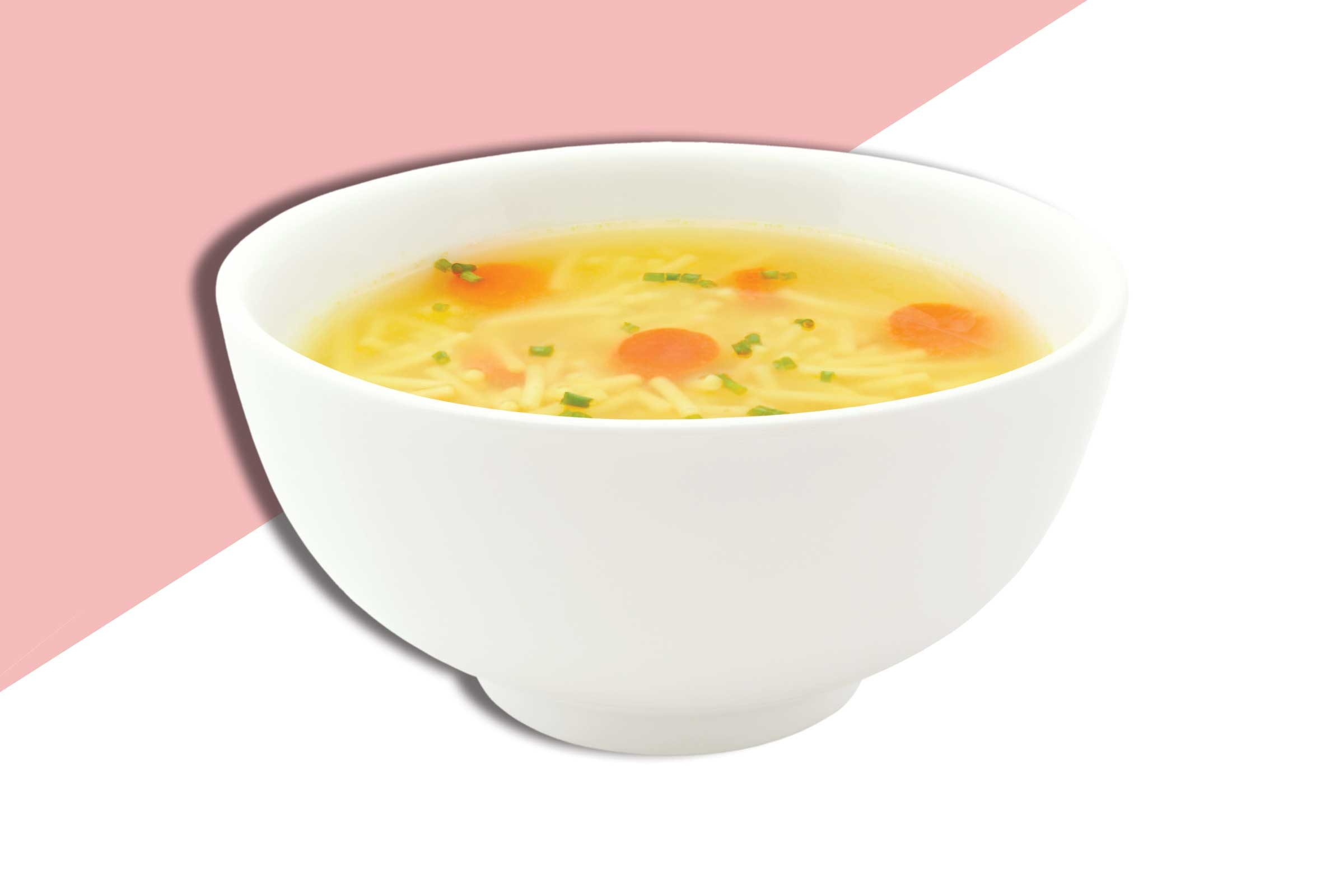 Chicken noodle soup cold myth for Soup for a cold