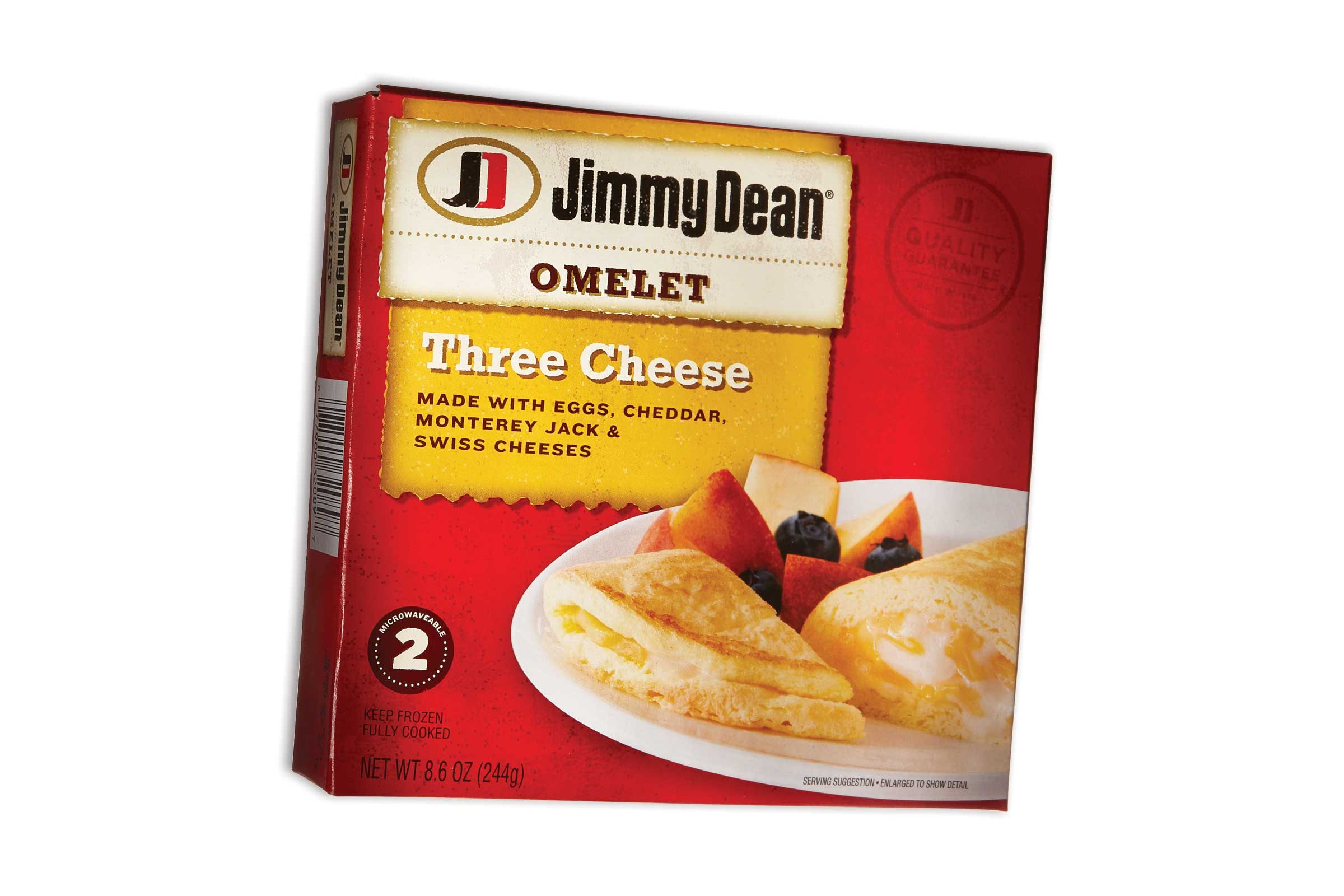 Jimmy Dean Three Cheese Omelet 290 Calories