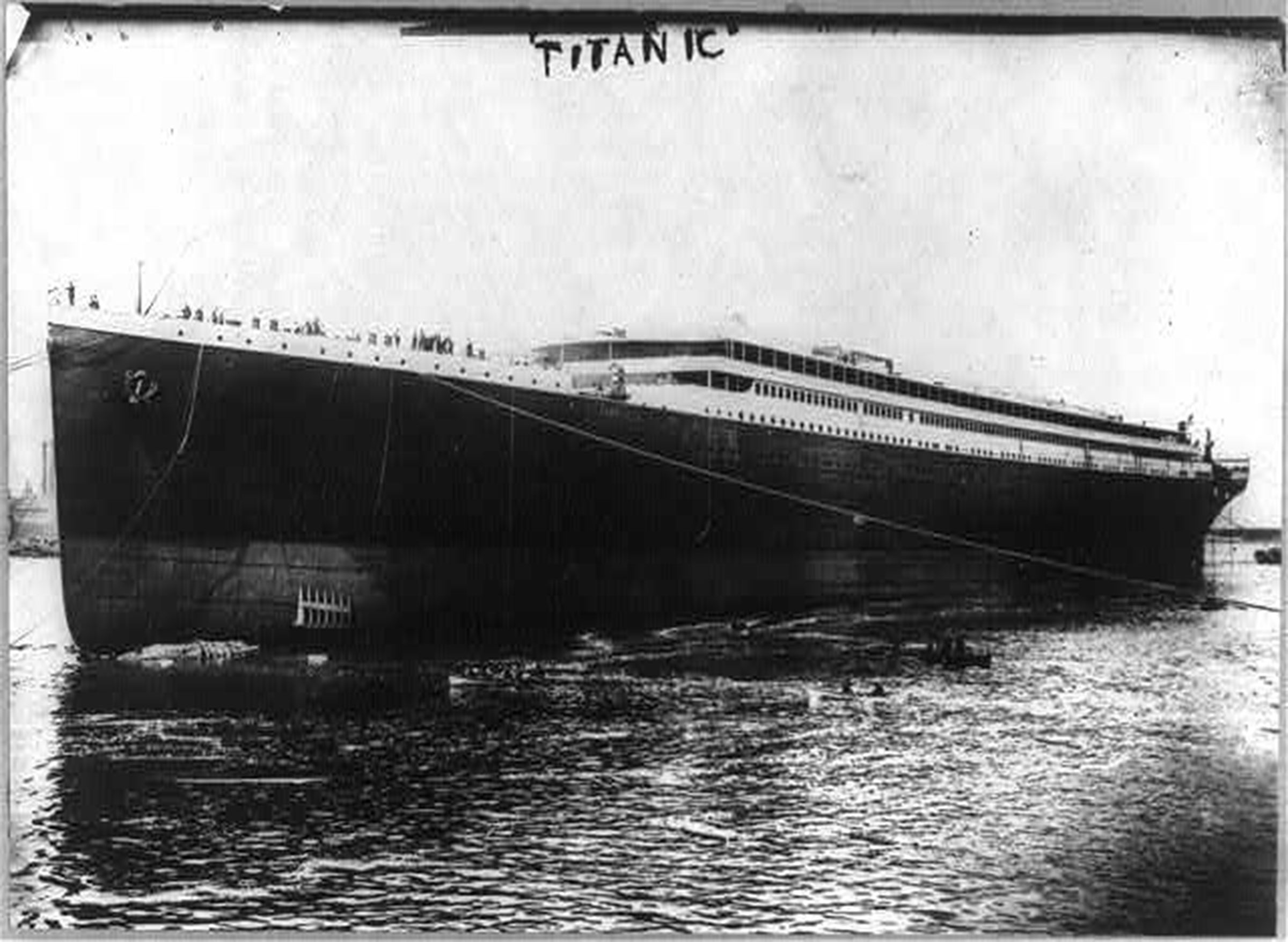 the titanic who is to Fire in the coal bunker of the titanic made it vulnerable to iceberg damage, a journalist claims these other factors may have mattered too.