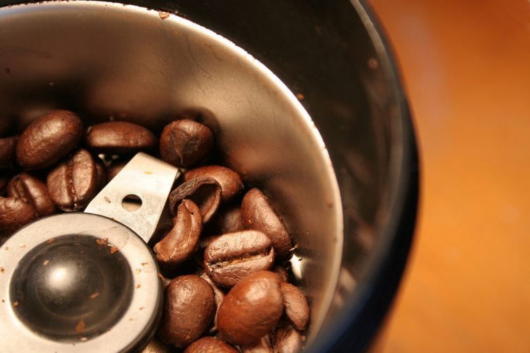 kitchen cleaning tips coffee grinder