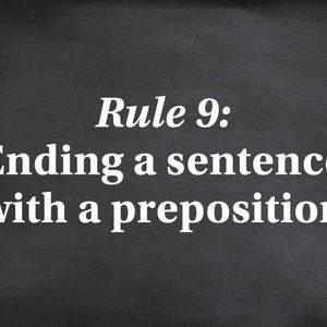 strict grammar rules