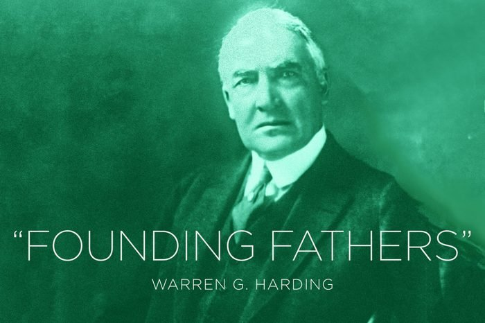 Warren G. Harding Former President Warren G. Harding. DNA testing is rewriting a chapter in presidential history, this one from the Roaring '20s. AncestryDNA, a division of Ancestry.com, says genetic analysis has confirmed President Warren G. Harding fathered a child out of wedlock with his long-rumored mistress Nan Britton. She set off a scandal when she went public nearly 90 years ago with her tale of forbidden love in the White House