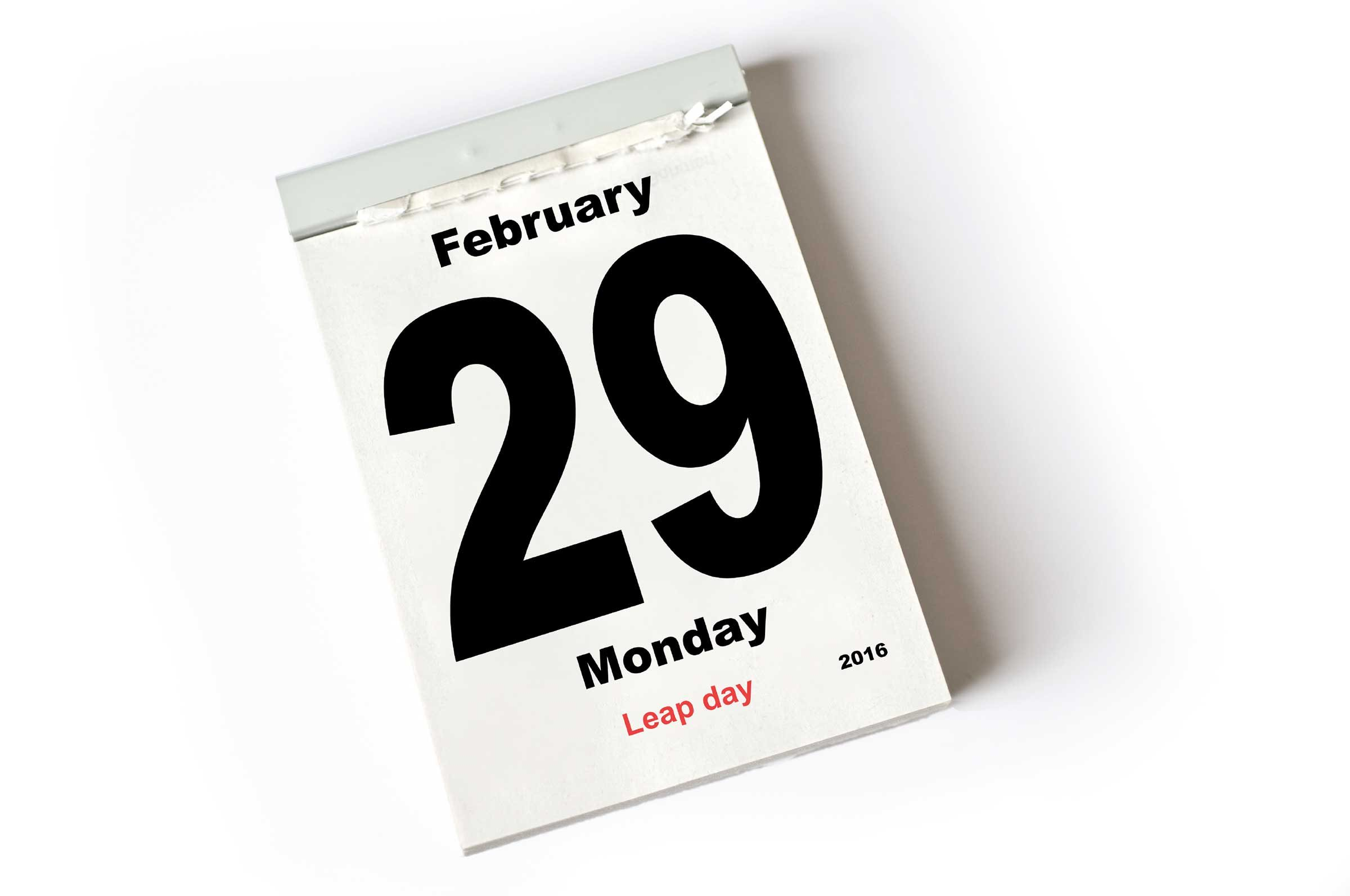 Born in a leap year: signs and superstitions