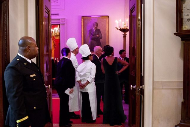 the residence white house kitchen staff