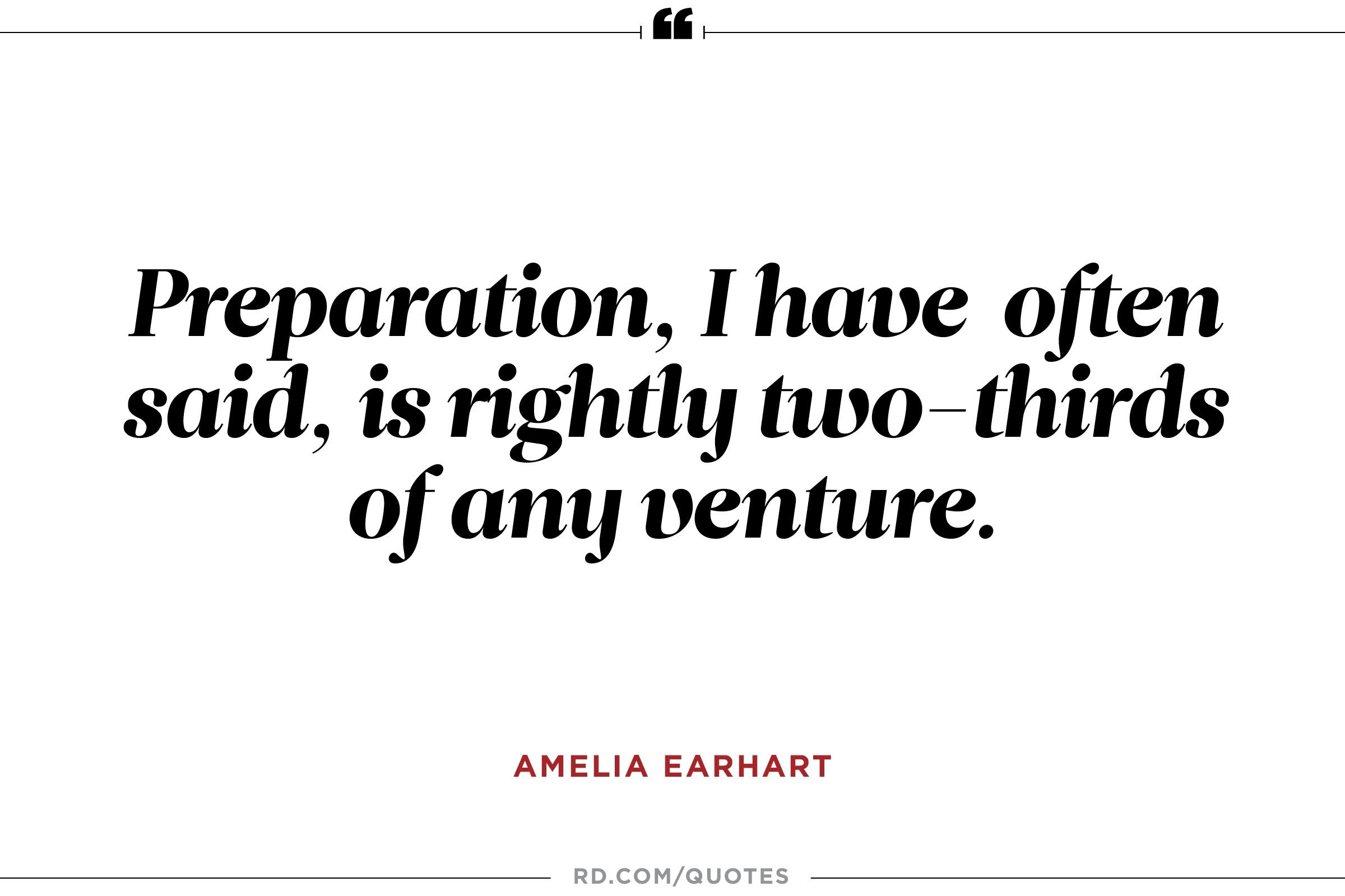 Uplifting Women's Quotes 10 Amelia Earhart Quotes To Propel You To Greatness  Reader's Digest