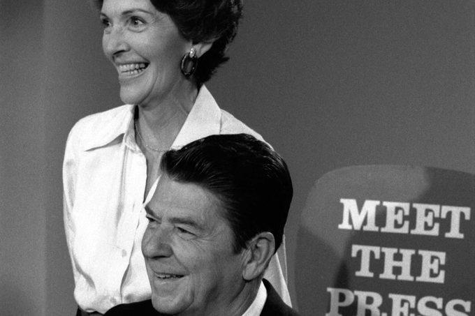 presidents first ladies ronald nancy