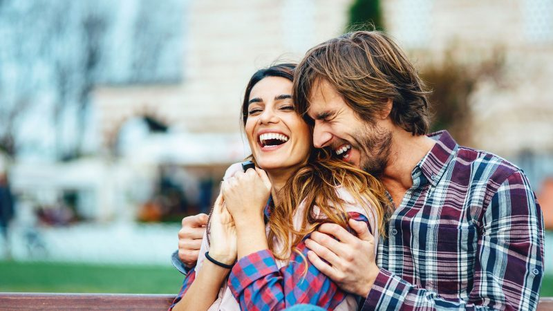 20 things happy couples do laugh