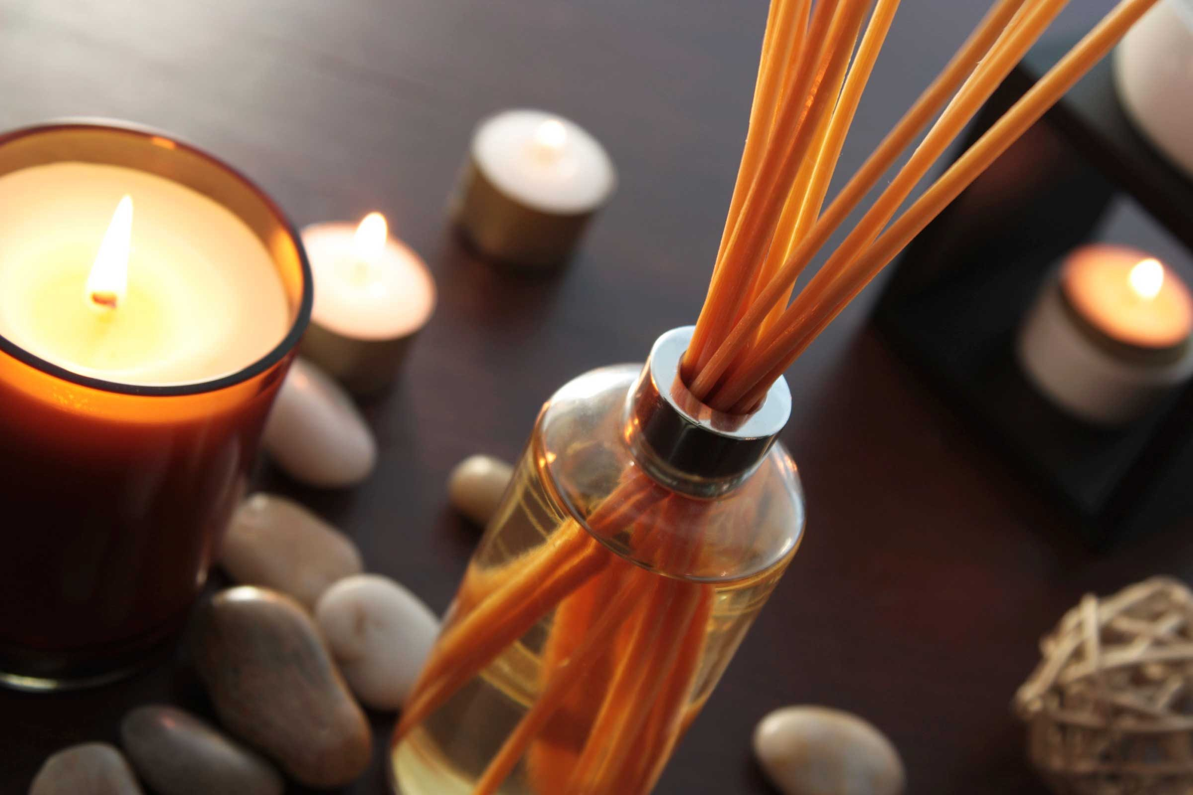 First, choose wisely between candles and diffusers
