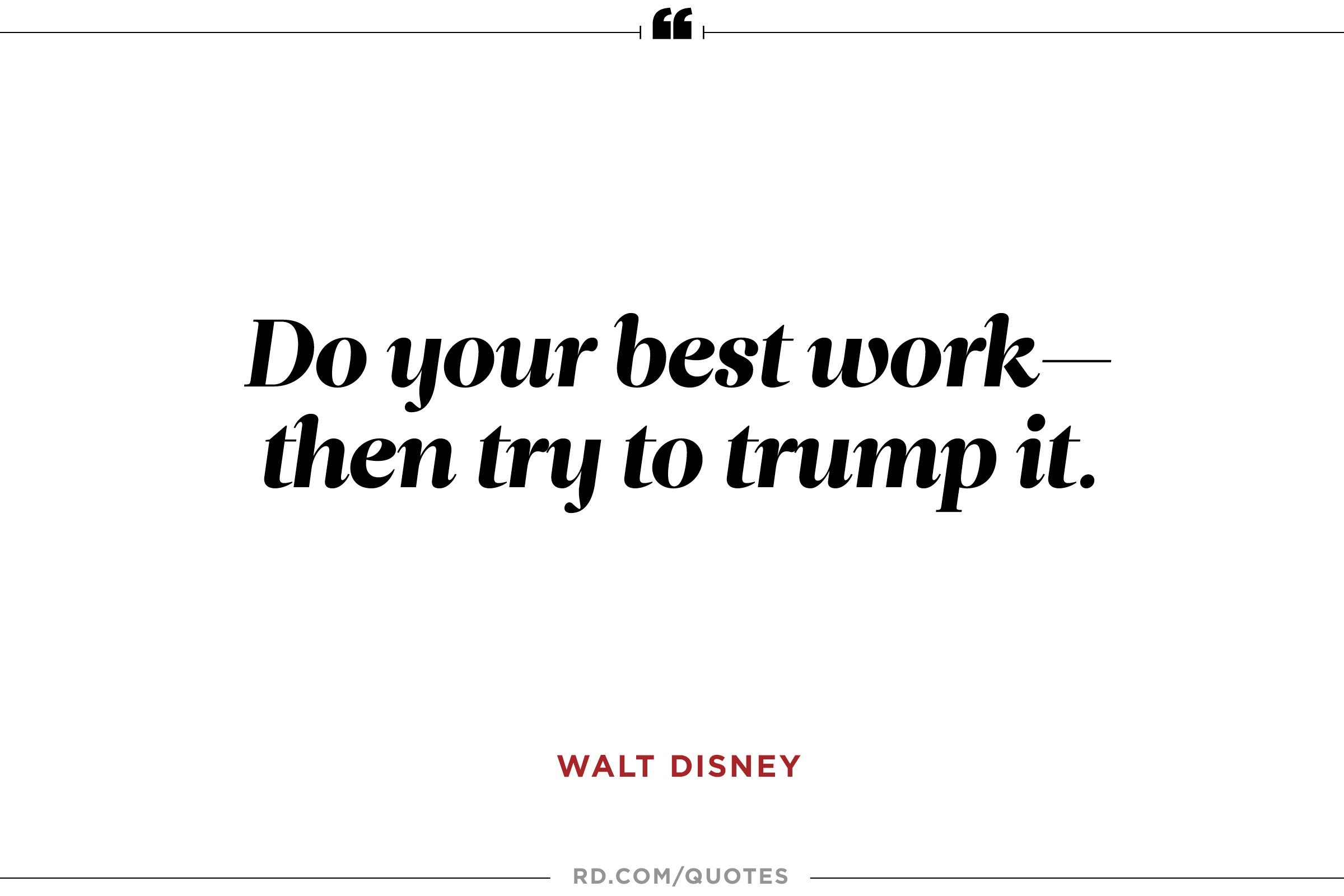 Walt Disney Quote Entrancing 11 Inspiring Walt Disney Quotes  Reader's Digest