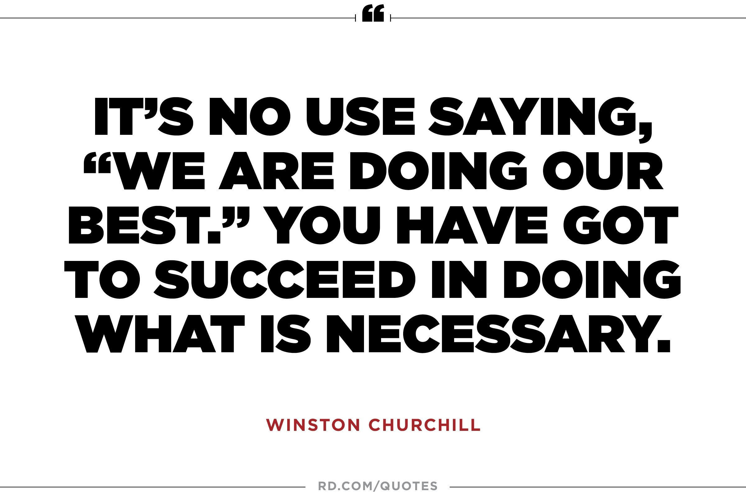 Winston Churchill Love Quotes 10 Winston Churchill Quotes That Get You To The Corner Office