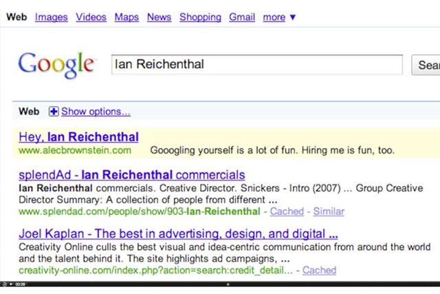 resume mistakes google ad