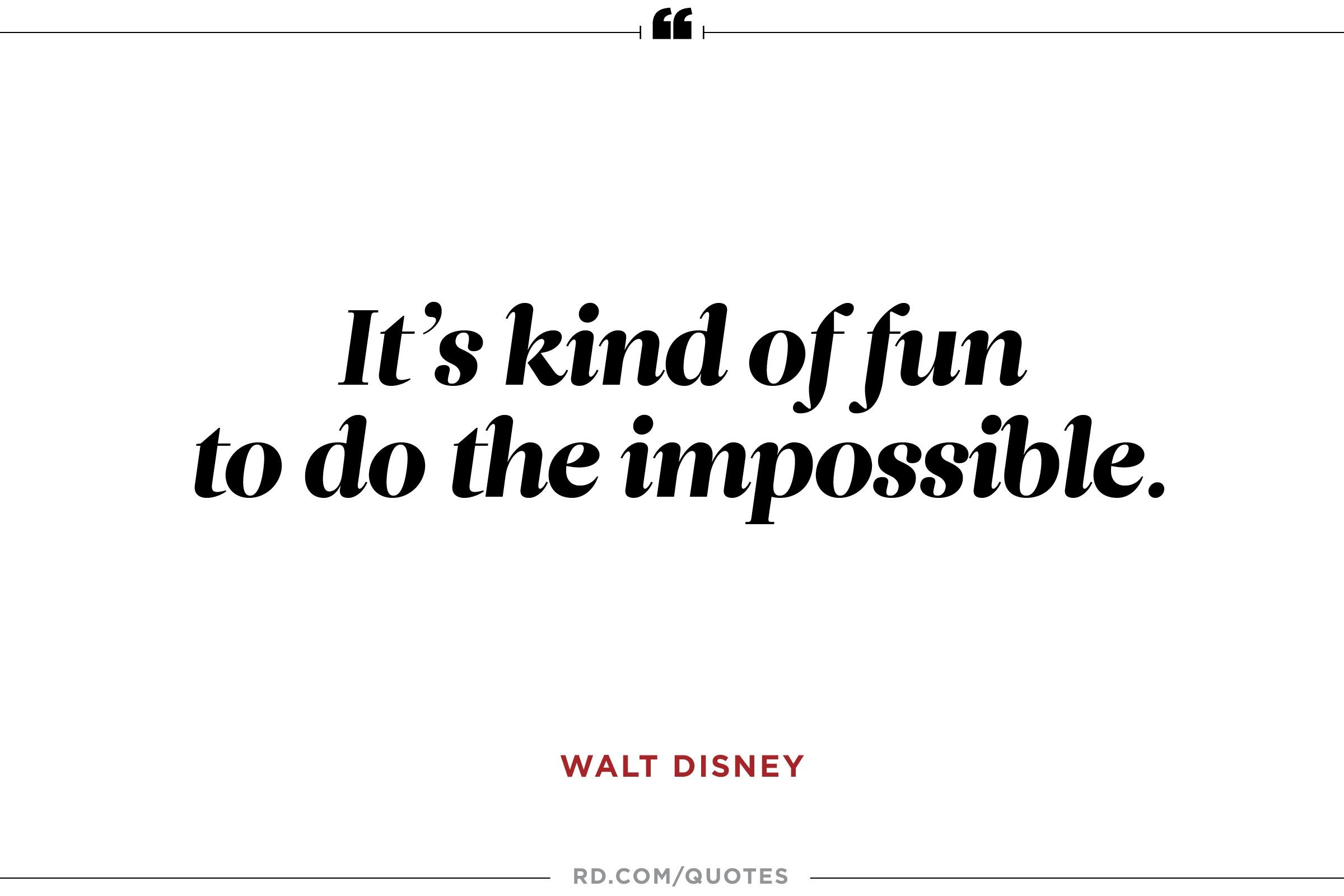 Quotes Disney 11 Inspiring Walt Disney Quotes  Reader's Digest