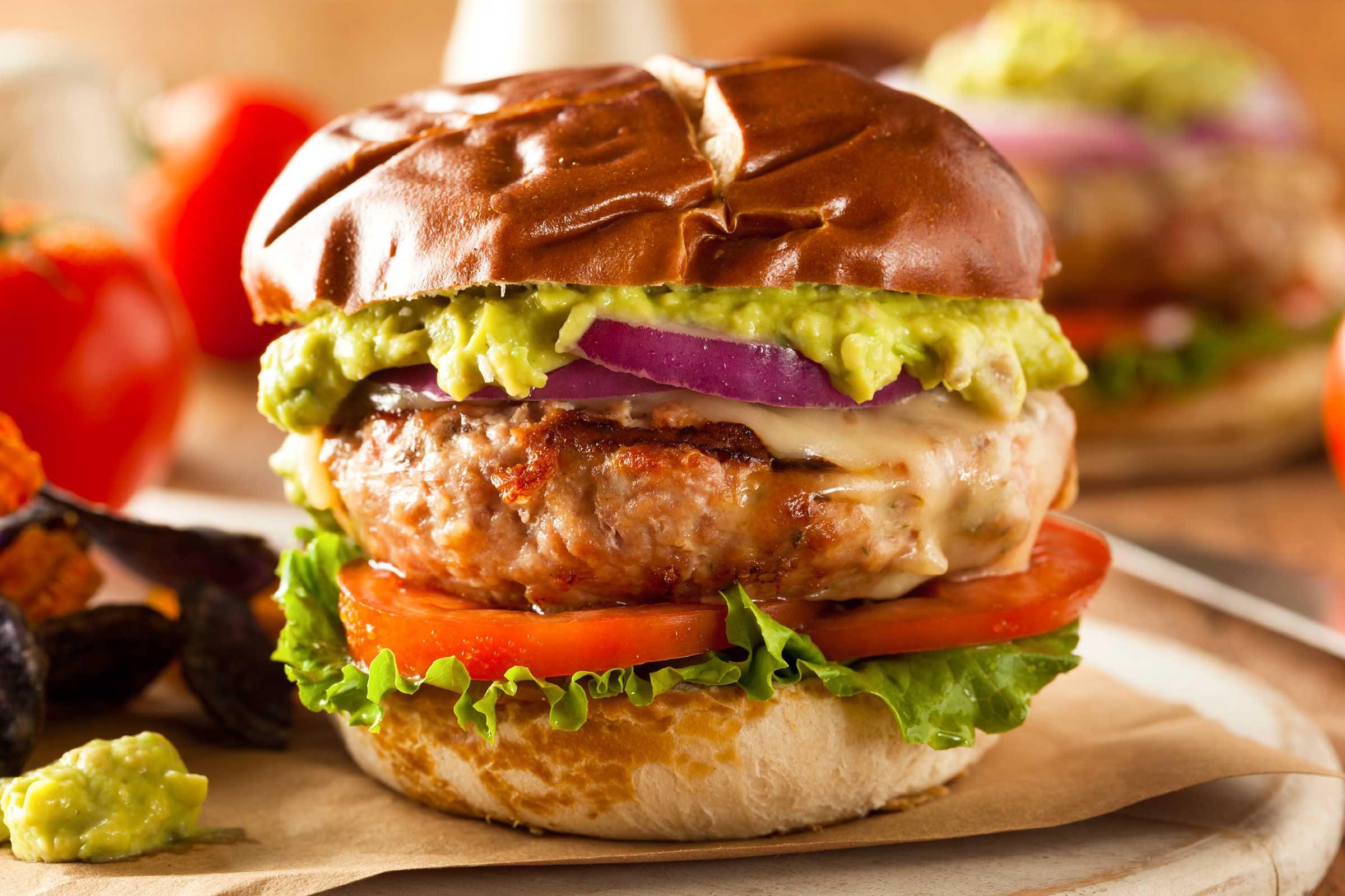 food mistakes think turkey burgers