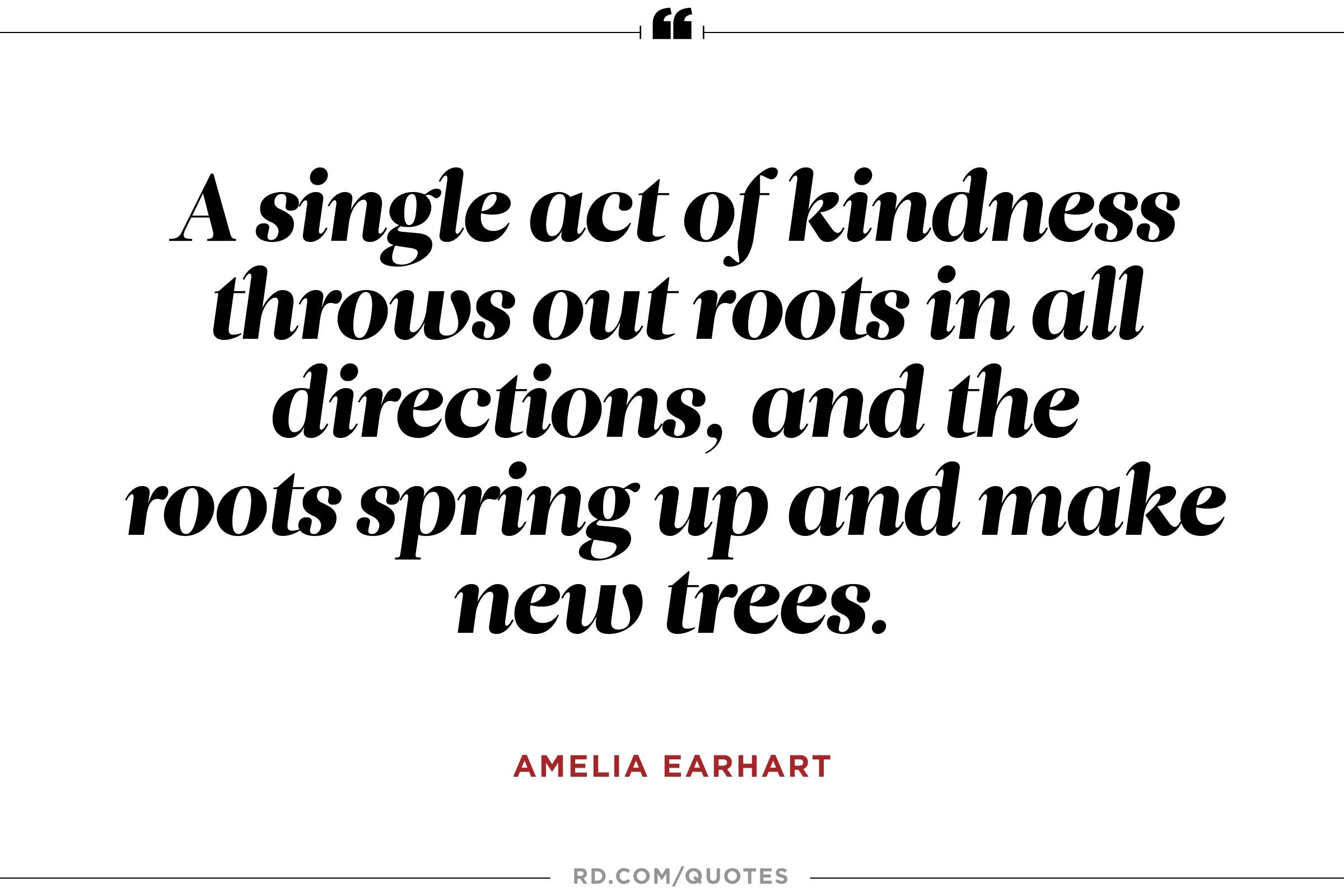Quotes Kindness 10 Amelia Earhart Quotes To Propel You To Greatness  Reader's Digest