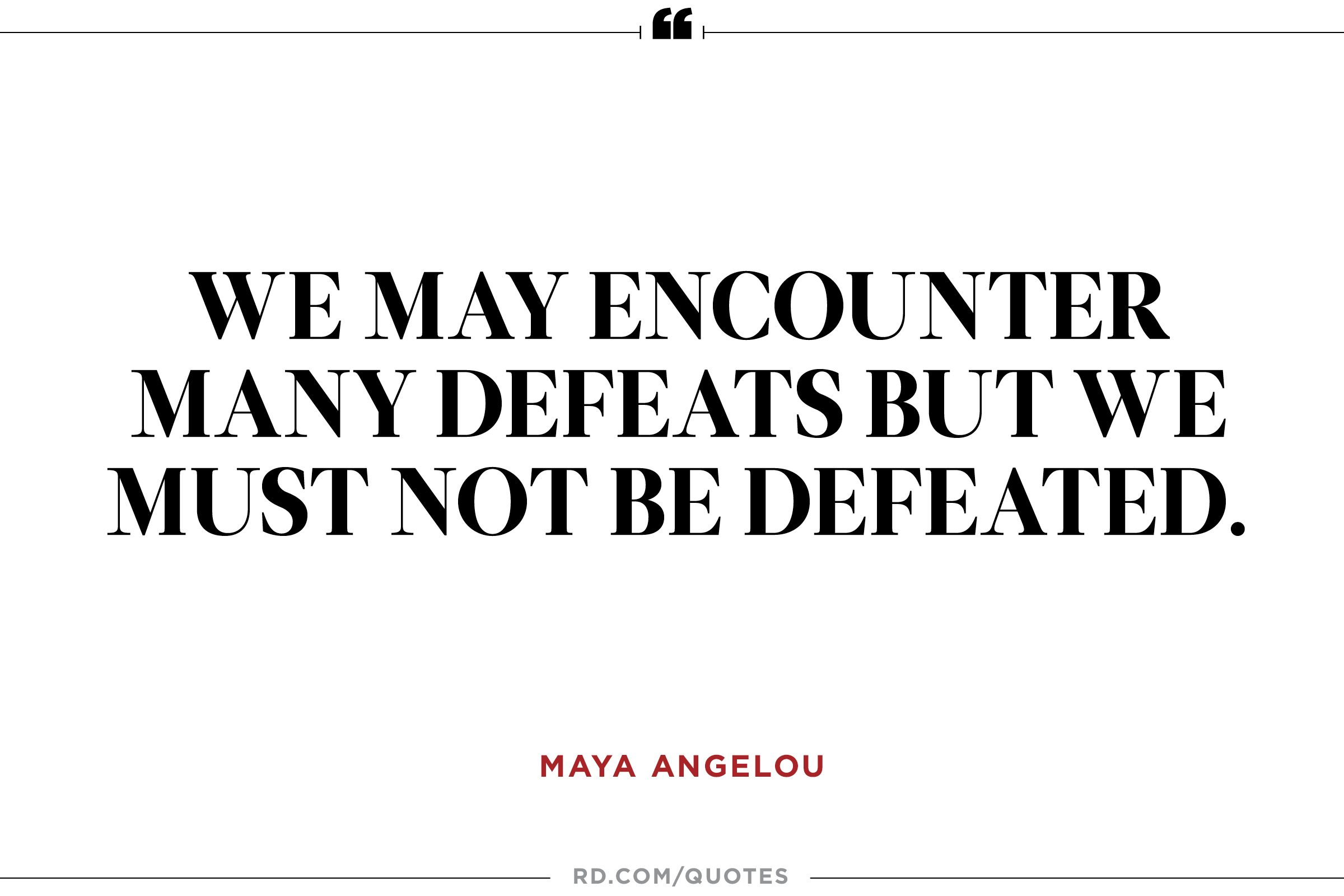 Quotes About Optimism Maya Angelou At Her Best 8 Quotable Quotes  Reader's Digest