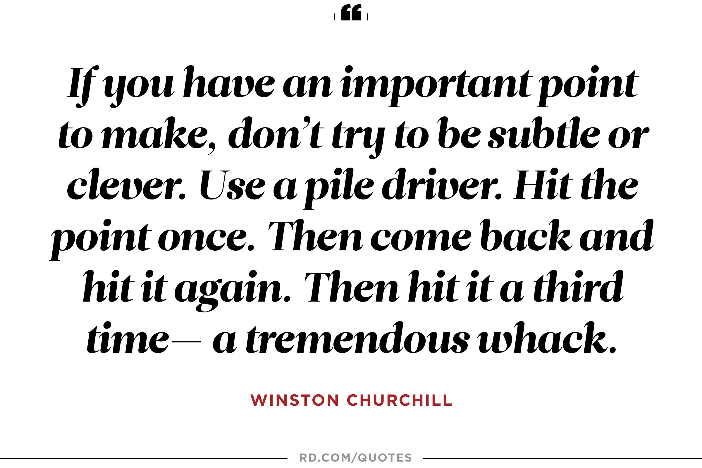 How To Make A Quote 10 Winston Churchill Quotes That Get You To The Corner Office