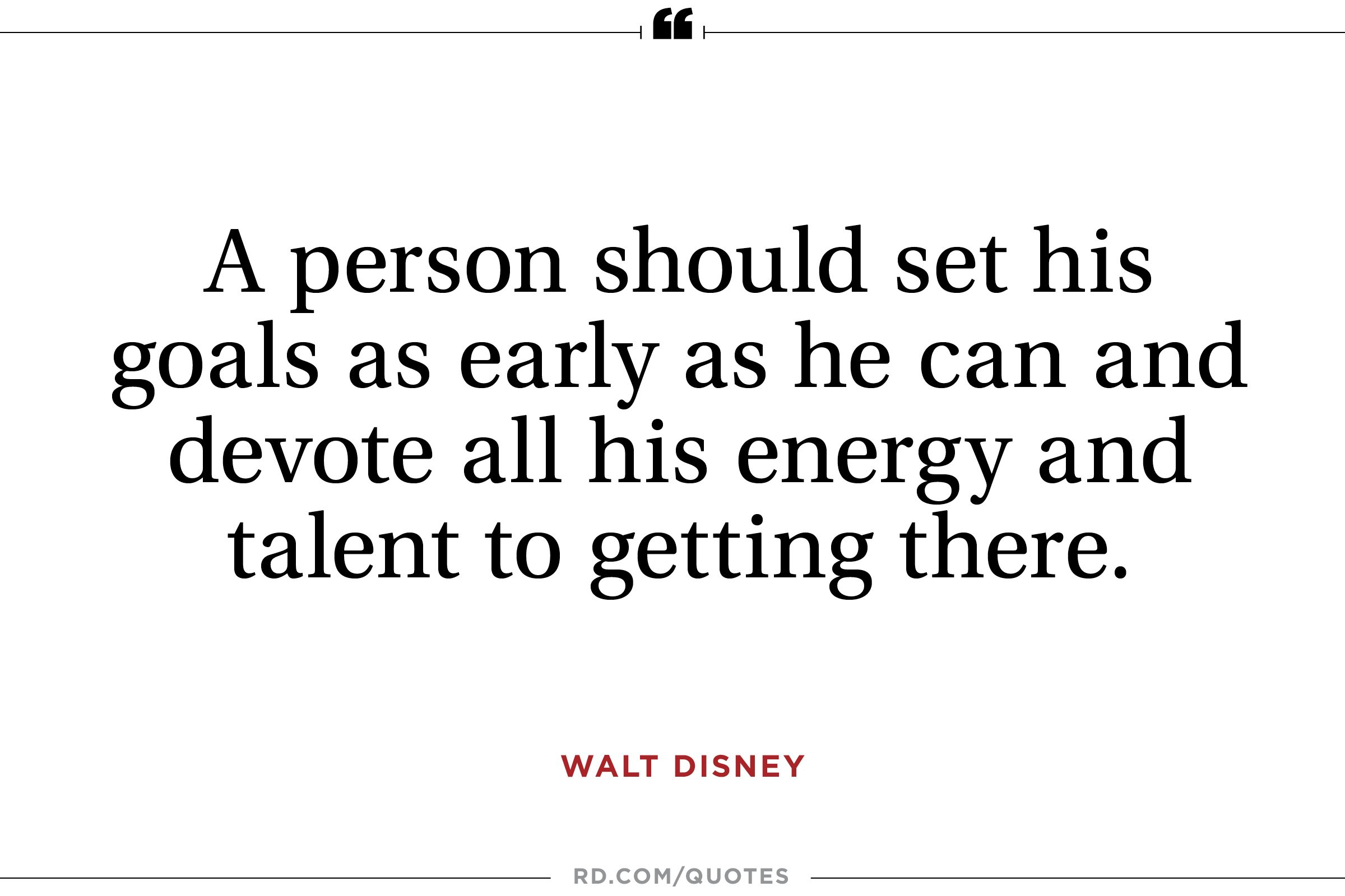 11 Inspiring Walt Disney Quotes | Reader\'s Digest