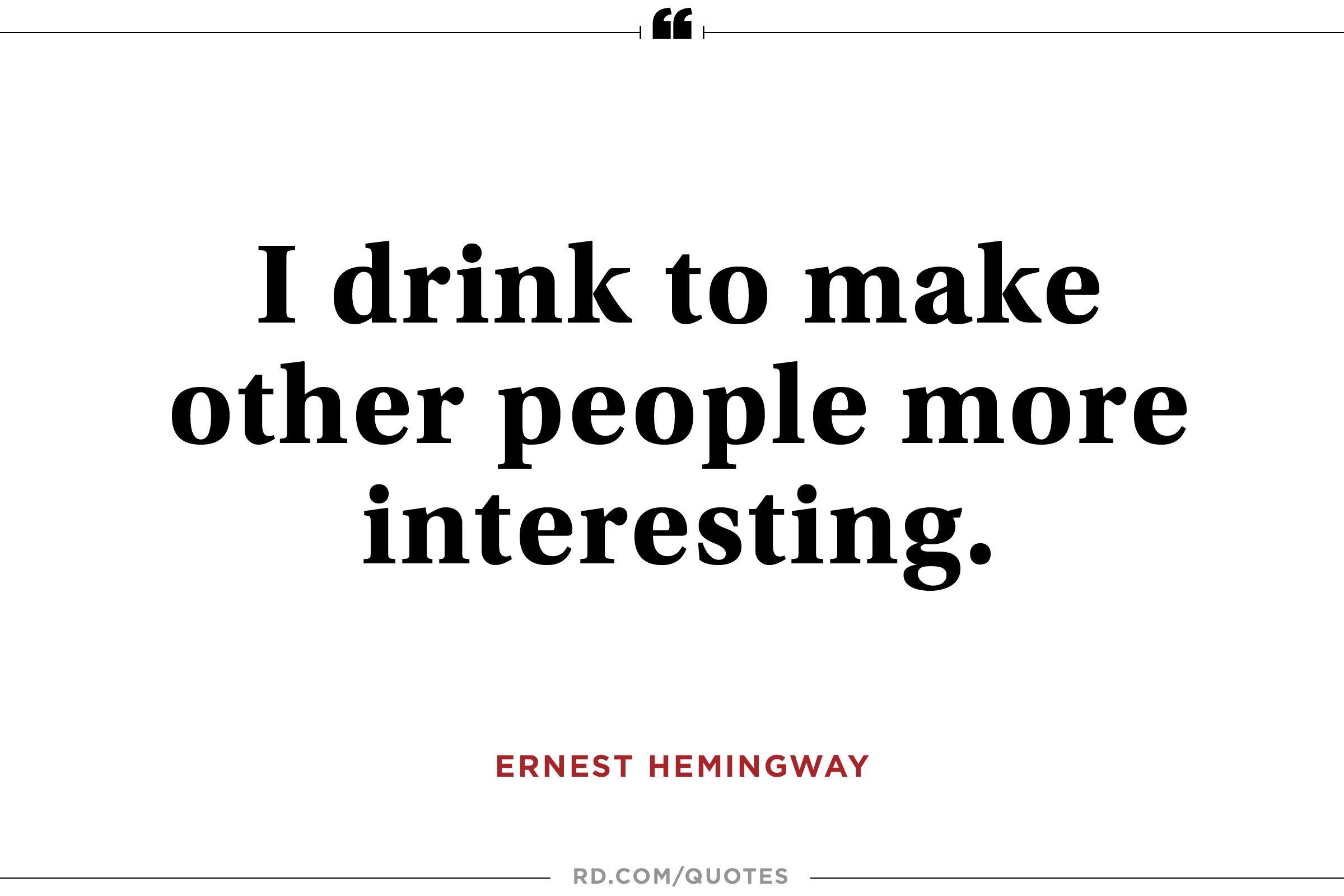 12 Inspiring Ernest Hemingway Quotes Readers Digest