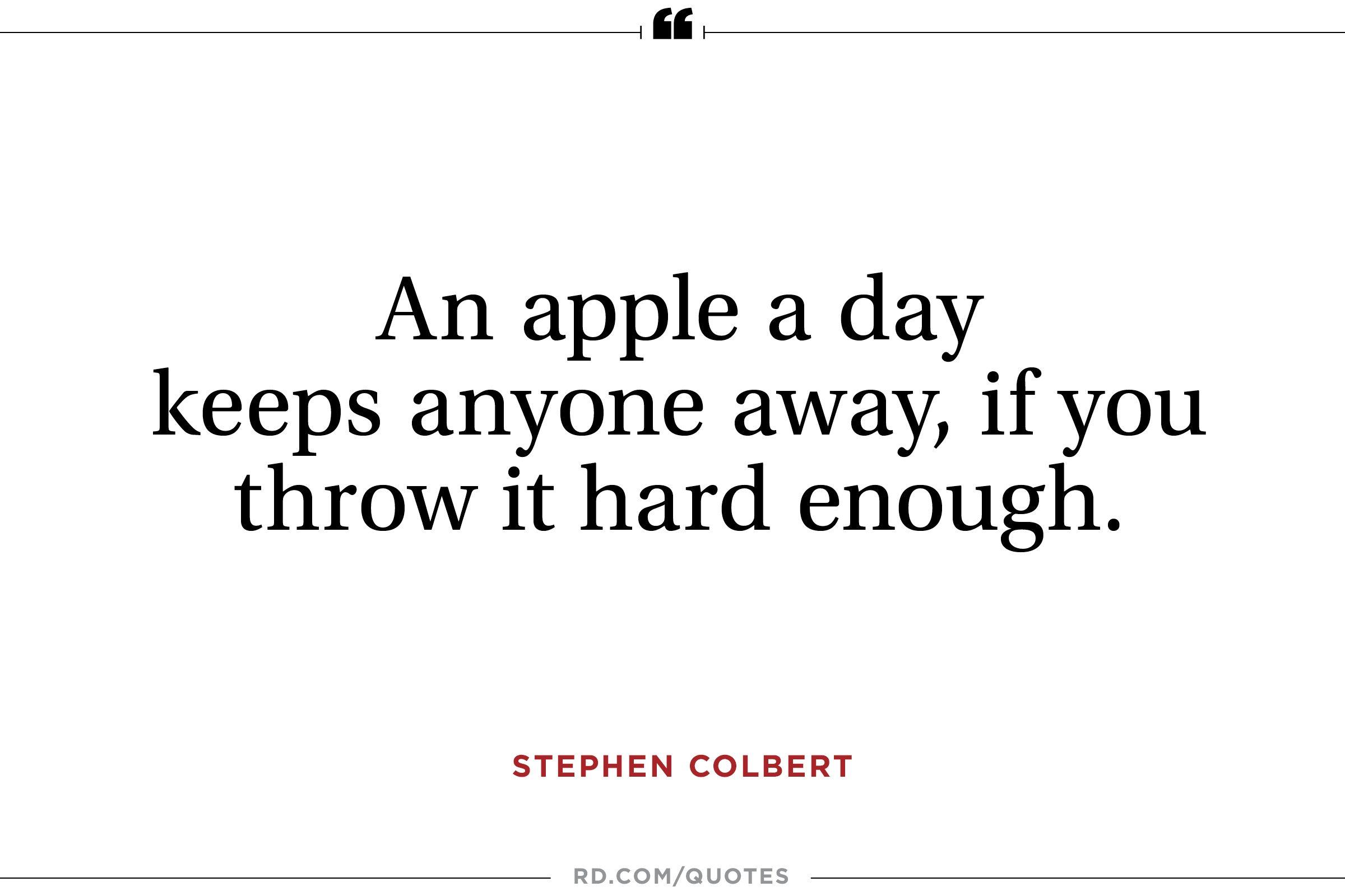 14 Best Ever Stephen Colbert Quotes Readers Digest