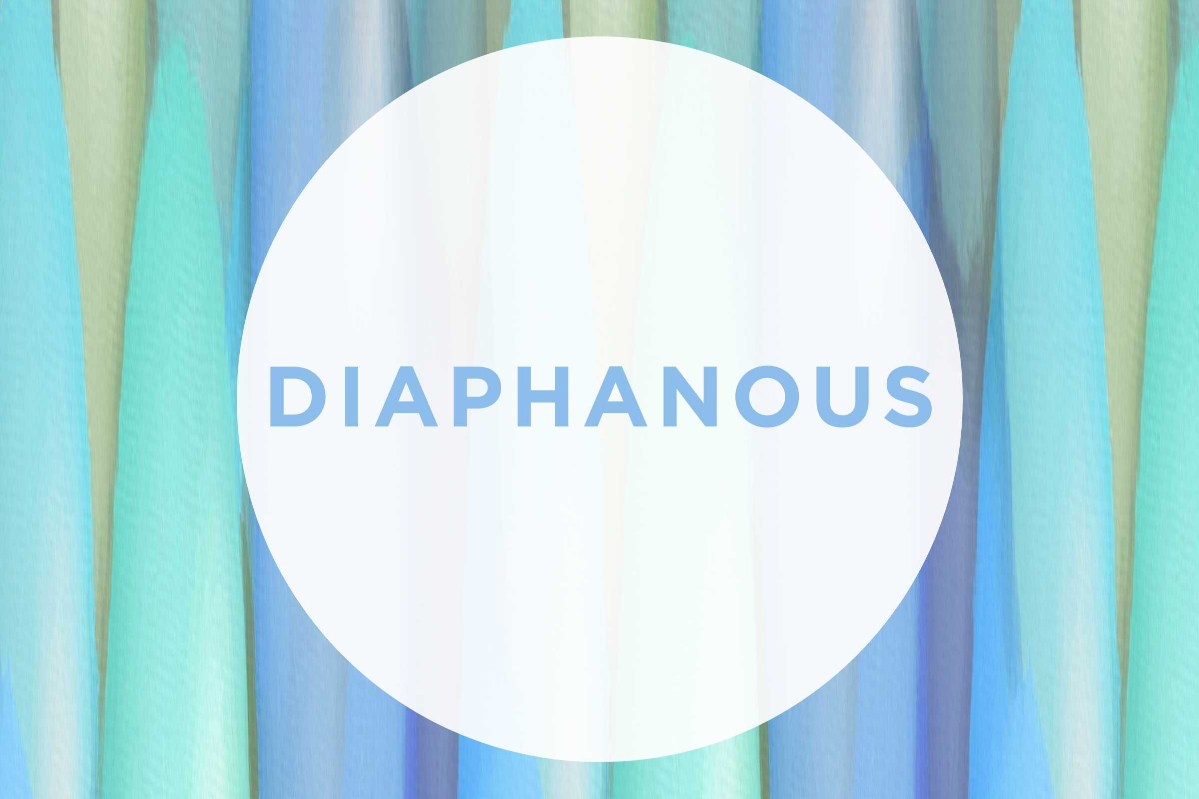 beautiful words comeback Diaphanous