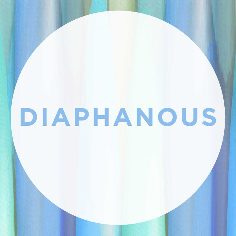 beautiful words comeback Diaphanous