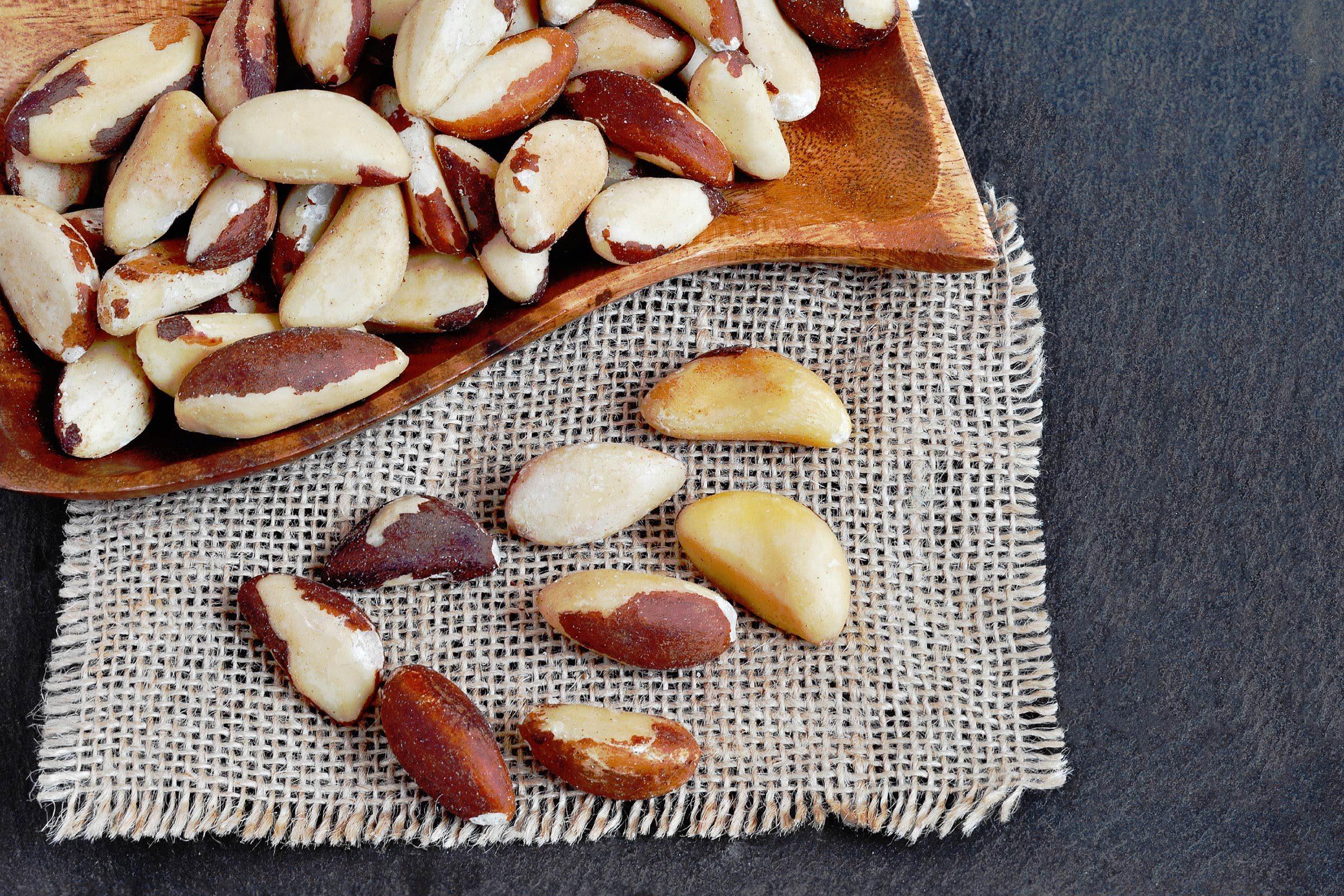 Eat A Few Brazil Nuts Each Day