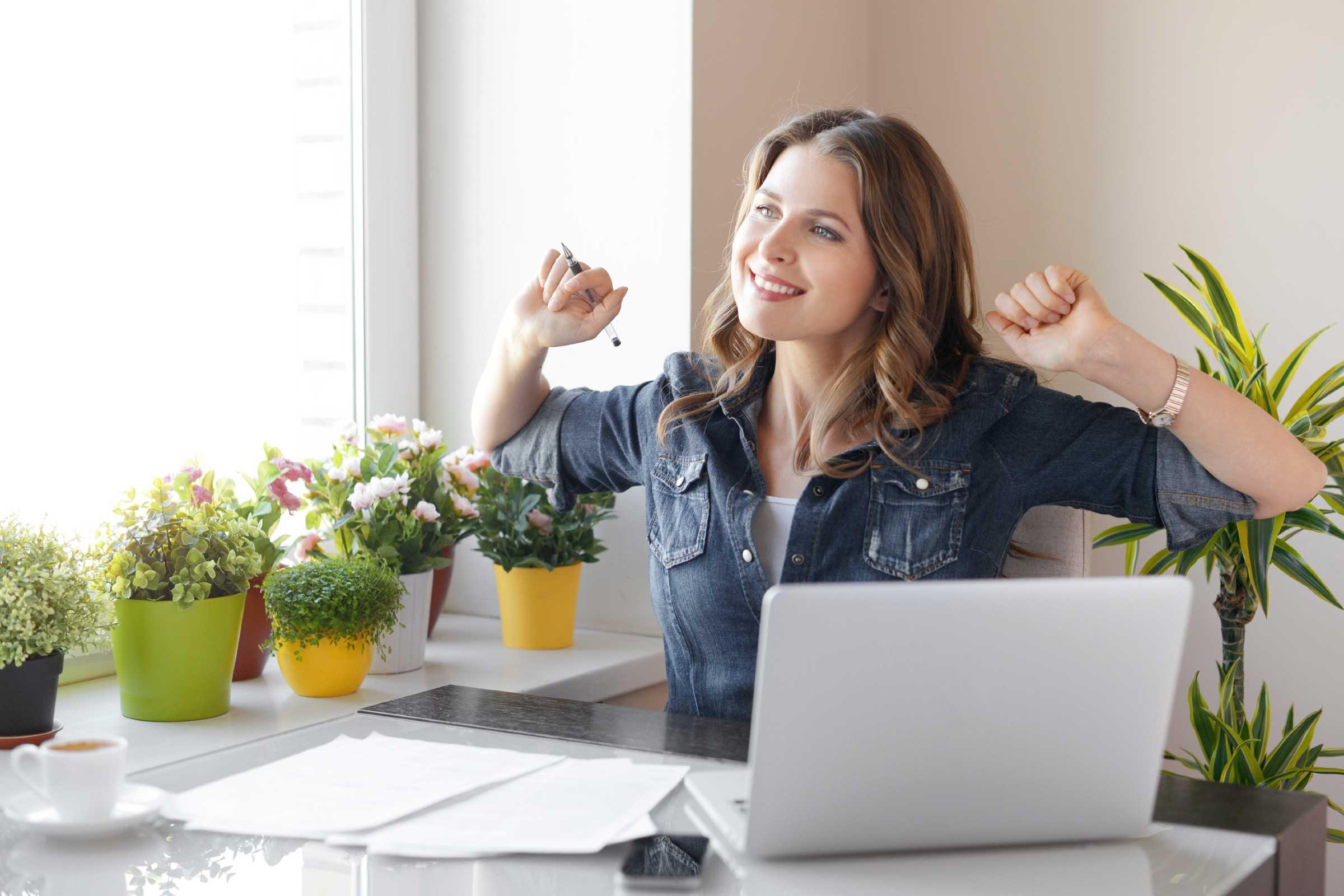 lose weight at desk jump start digestion