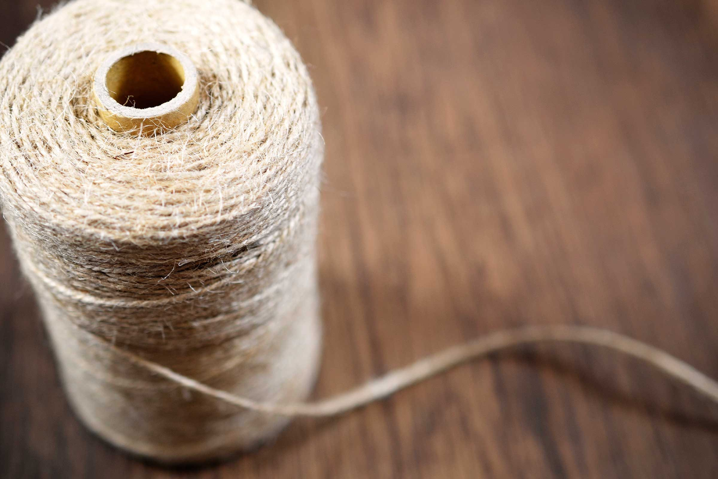 A spool of string.