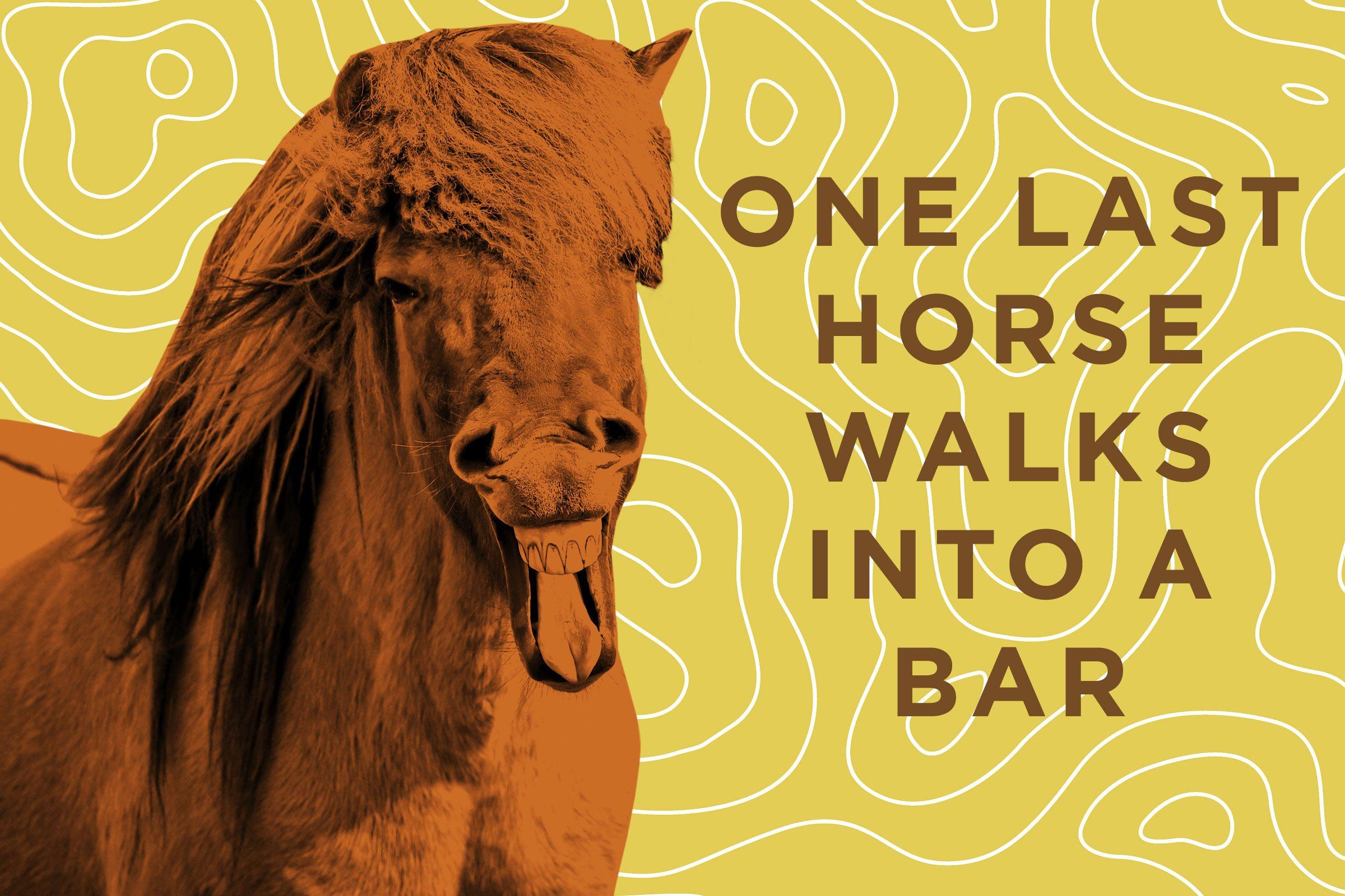 horse cowboy cartoon