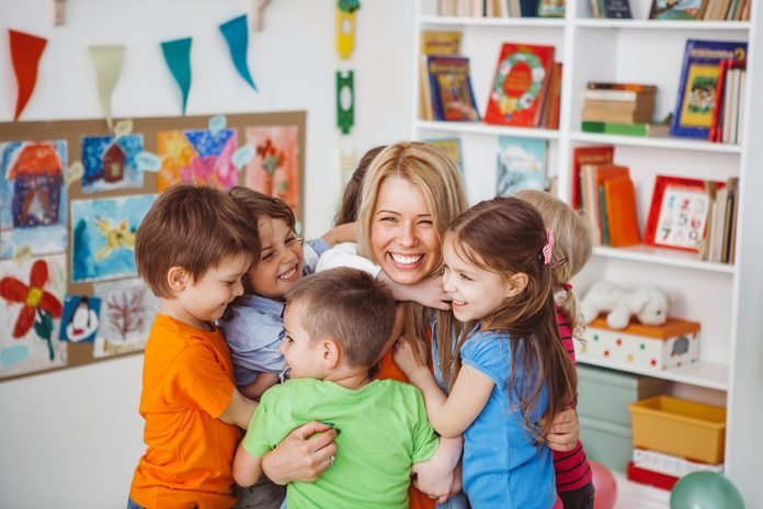your your childs teacher happy kids classroom