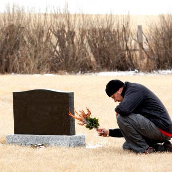 Why I Left Flowers On a Stranger's Grave in Russia