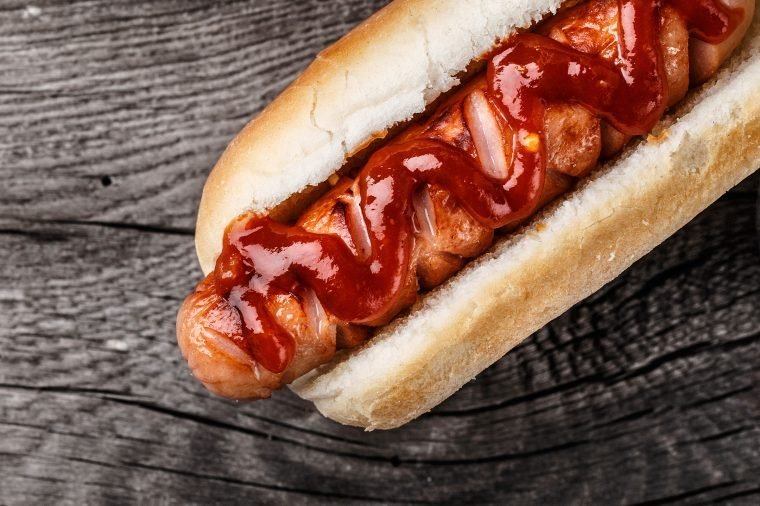 trivia american iconic food hot dog bun