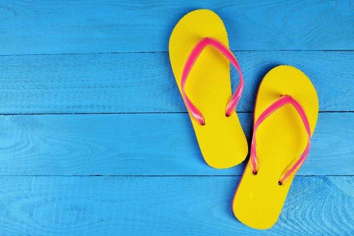 summer hacks flip-flops
