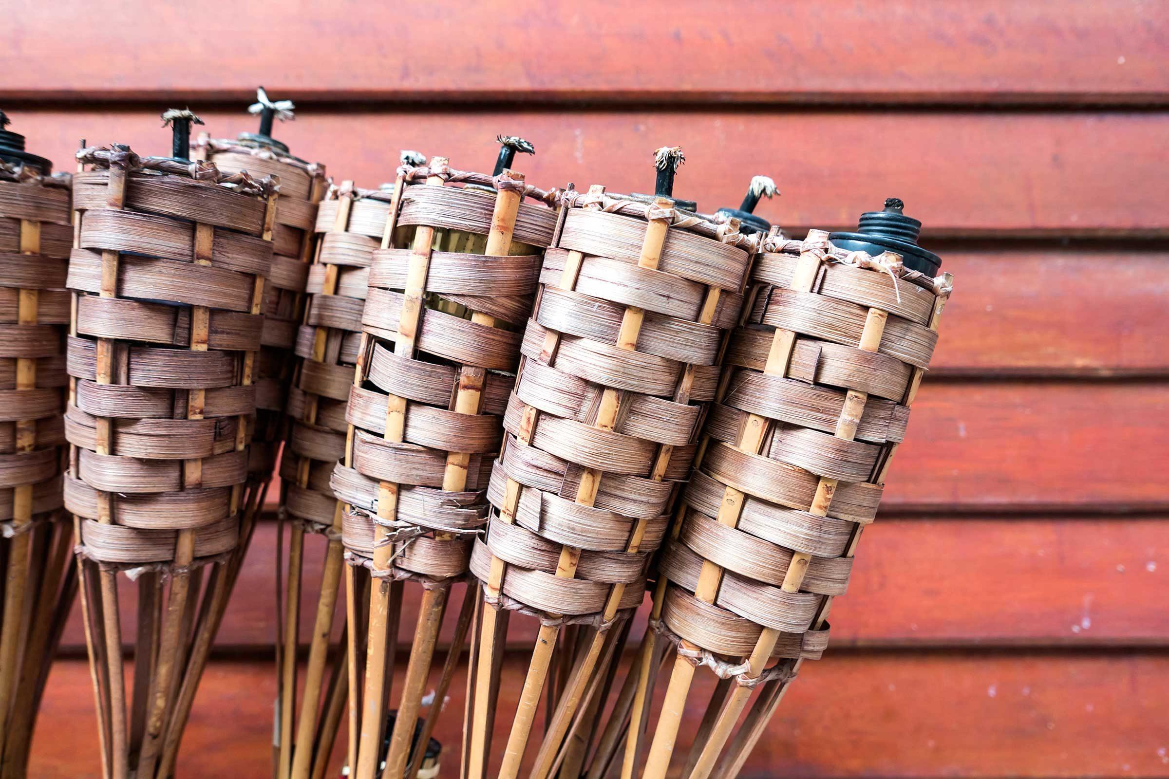 summer hacks outdoor candleholder