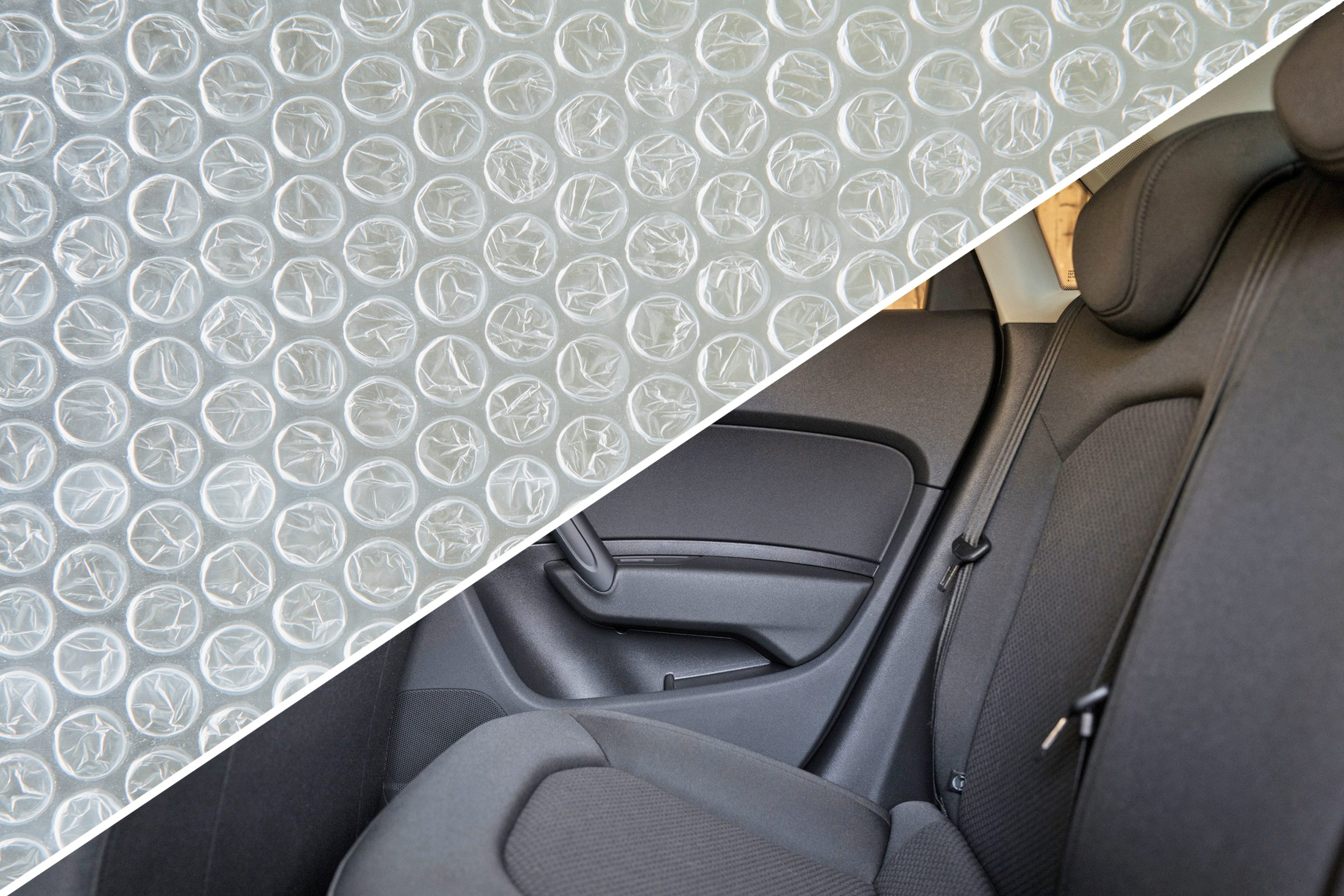 car bubble wrap