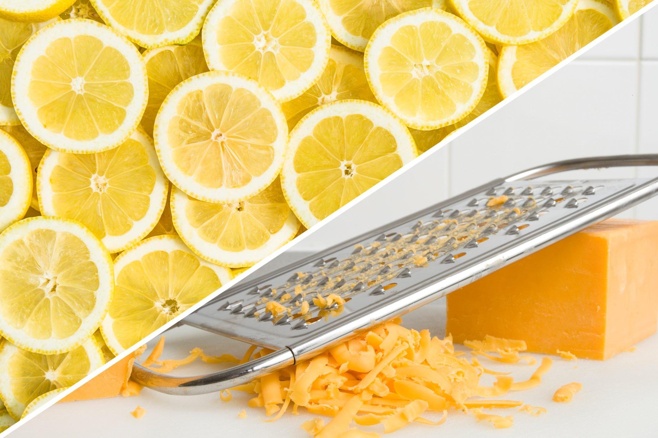 cheese grater lemon cleaner