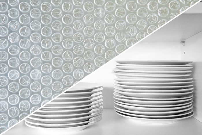 stack of dishes