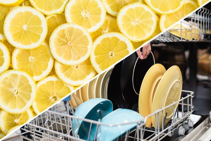 dishwasher clean lemon uses