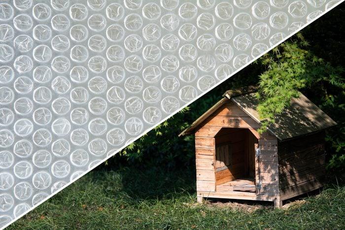 dog house bubble wrap