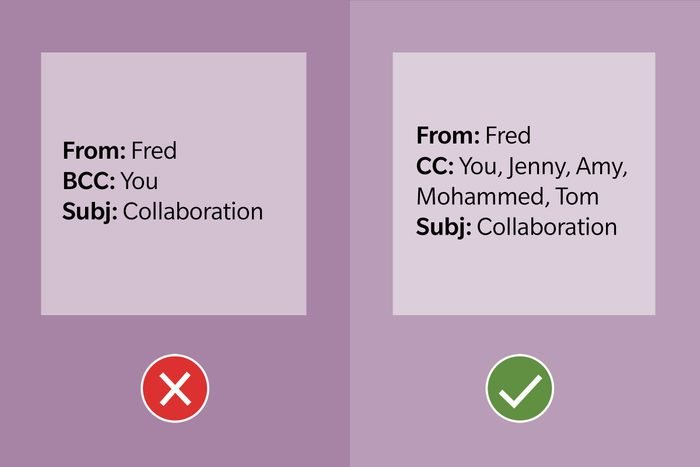 Email Etiquette Tip 11 Use Cc For Collaboration