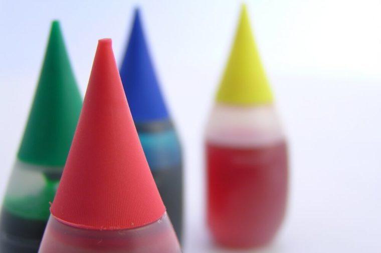 food coloring bottles best april fools pranks for parents