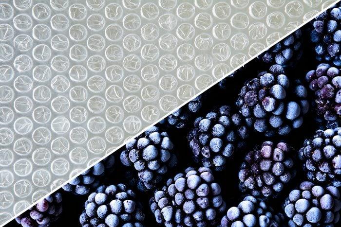 frozen food bubble wrap