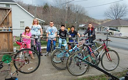 Two Wheels and a Heart: Why Mick Polly is Building Bikes for Needy Kids