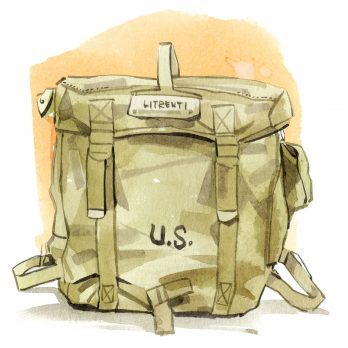 A Soldier Receives a Random Field Pack on His First Day, Discovers It Belonged to His Own Father