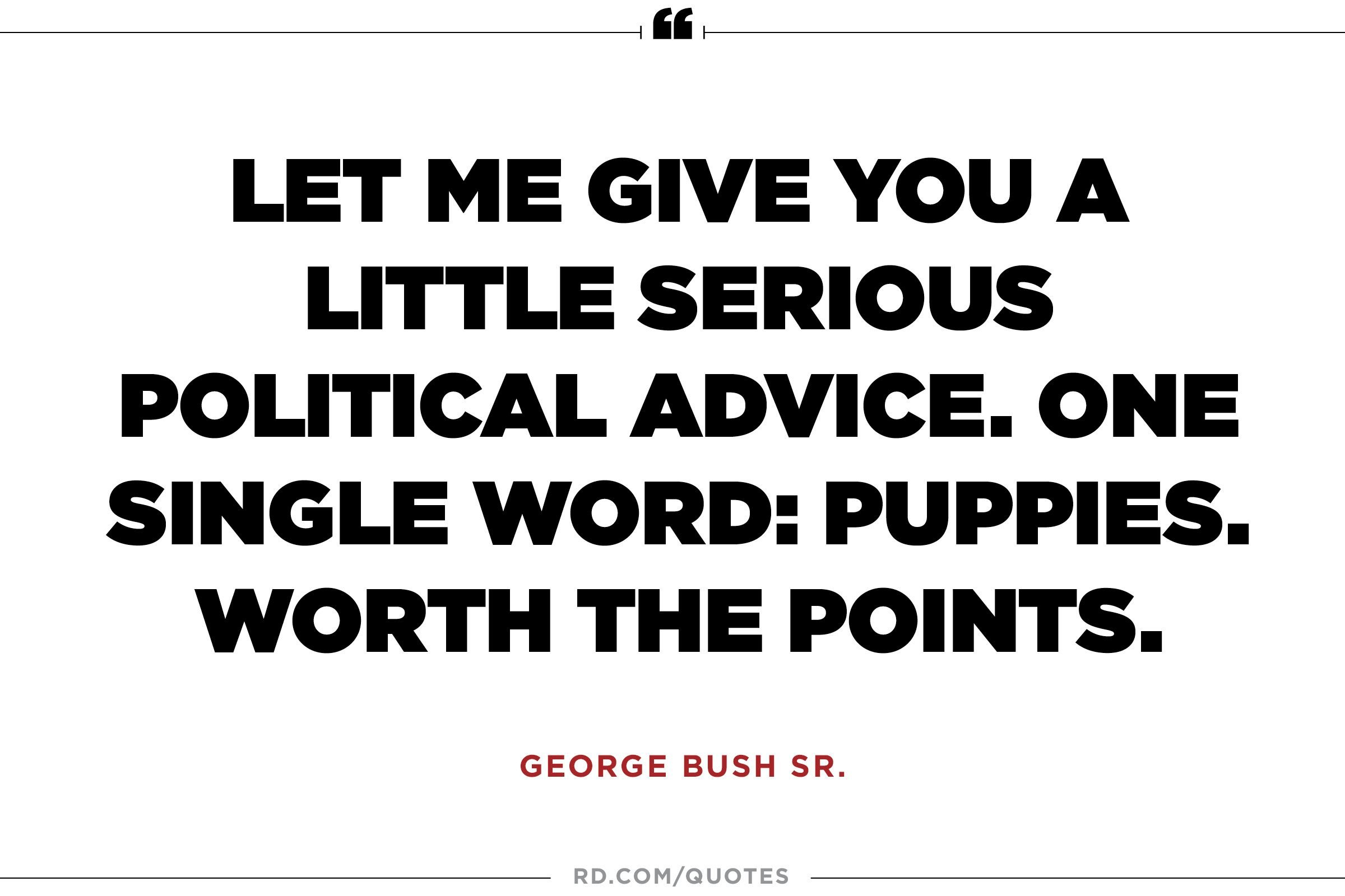 Serious Quotes Funny President Quotes  Reader's Digest