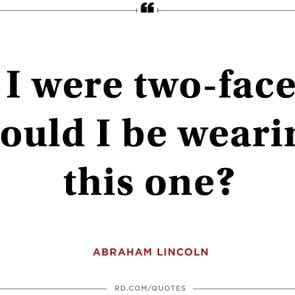 president quotes abraham lincoln