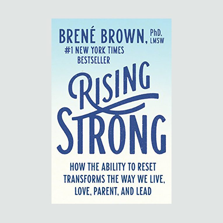 """Rising Strong"" by Brené Brown"
