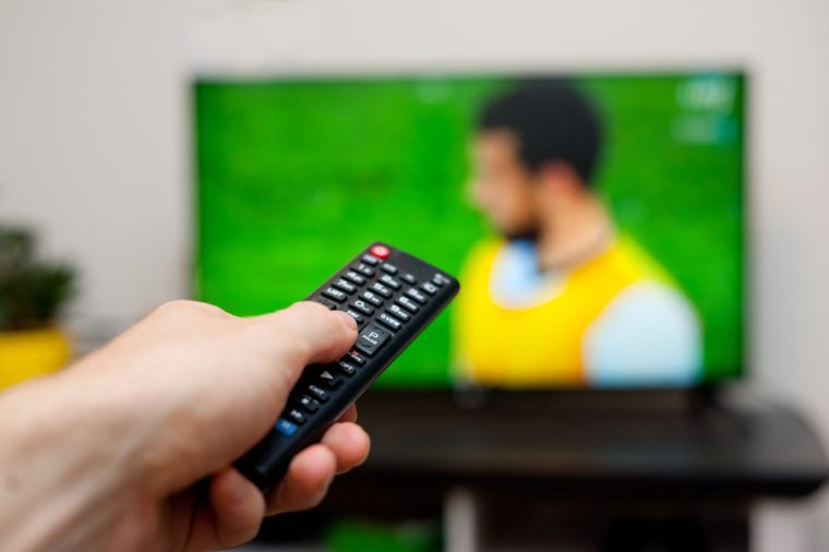 Tv and remote controller