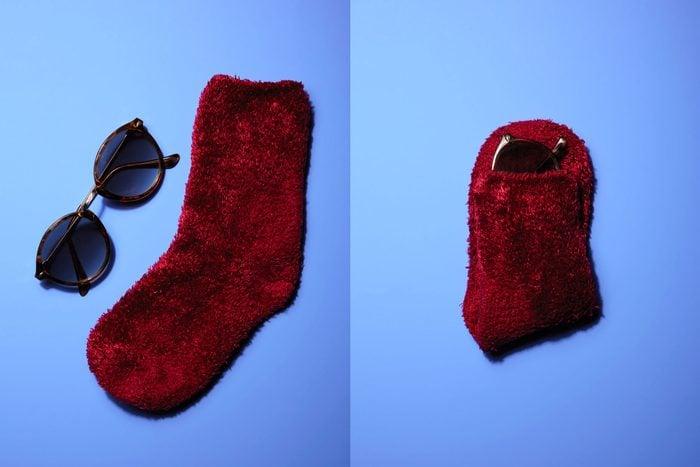 single sock glasses