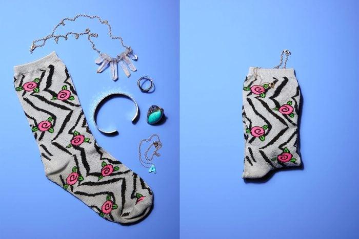 single sock jewelry